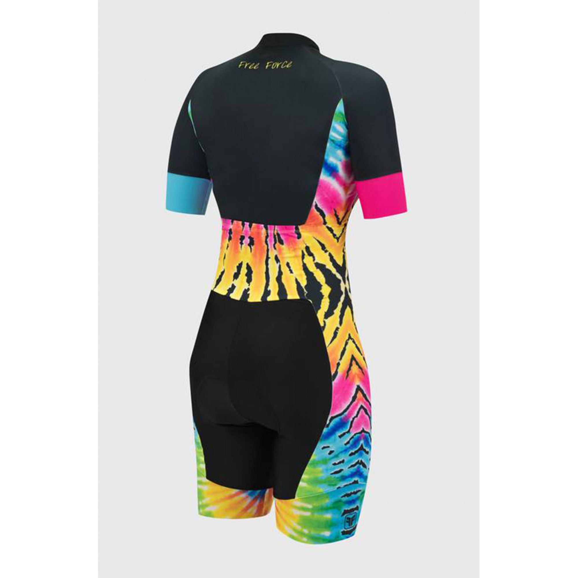Macaquinho Ciclismo Sport Tie Dye - Free Force