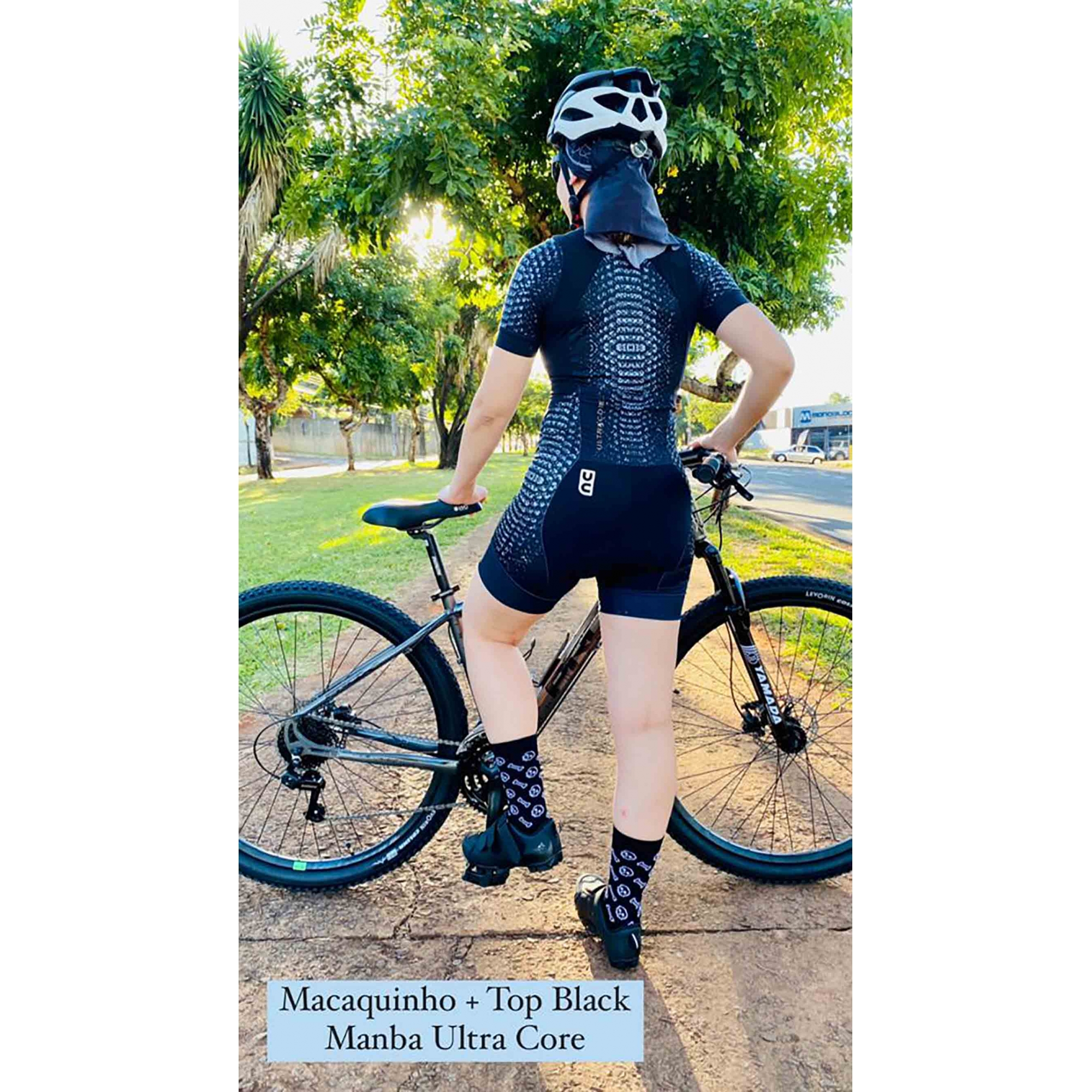 Macaquinho Ciclismo + Top Manba - Ultracore