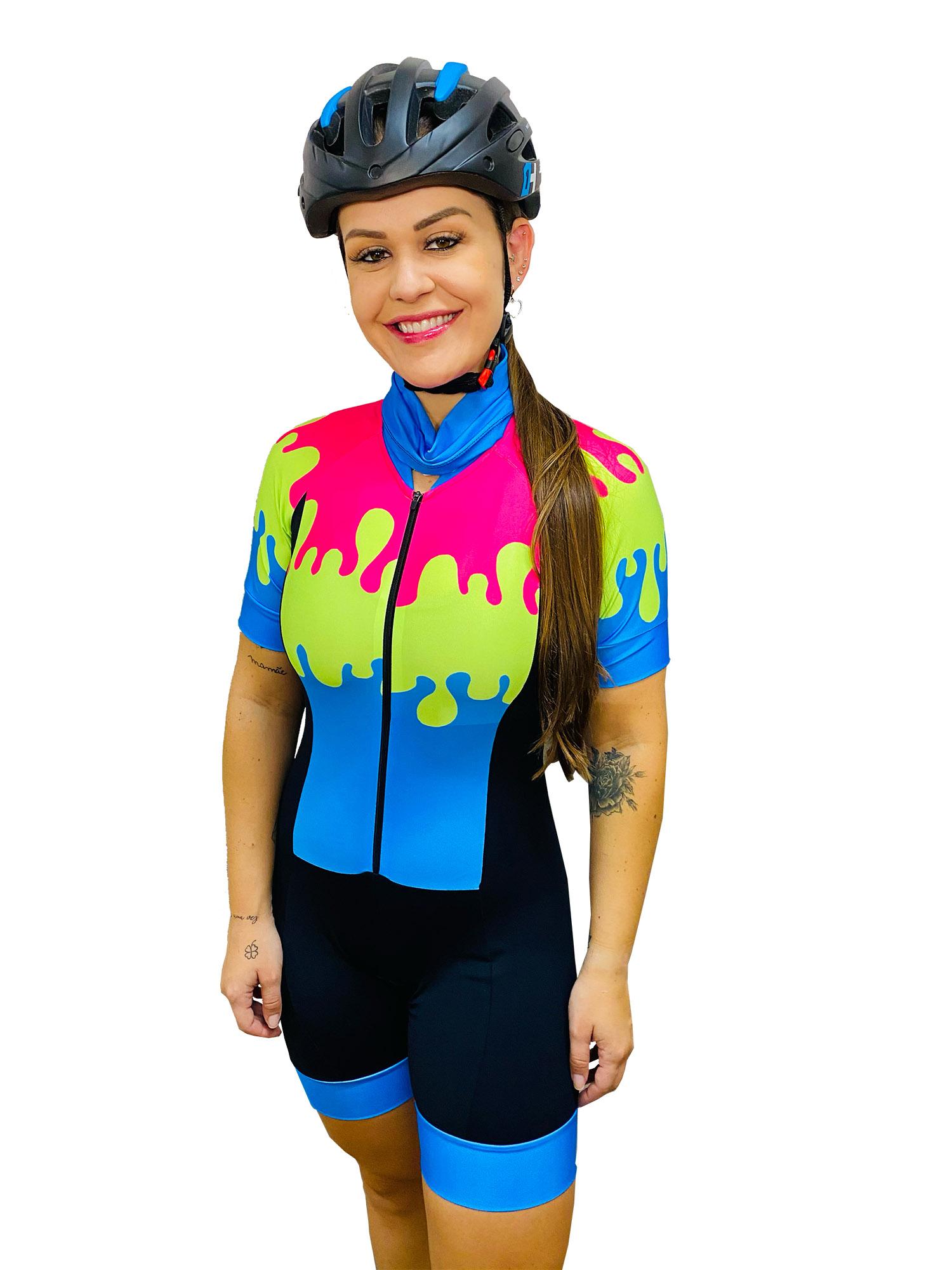 Macaquinho Feminino Ciclismo Picolé - Giro Radical