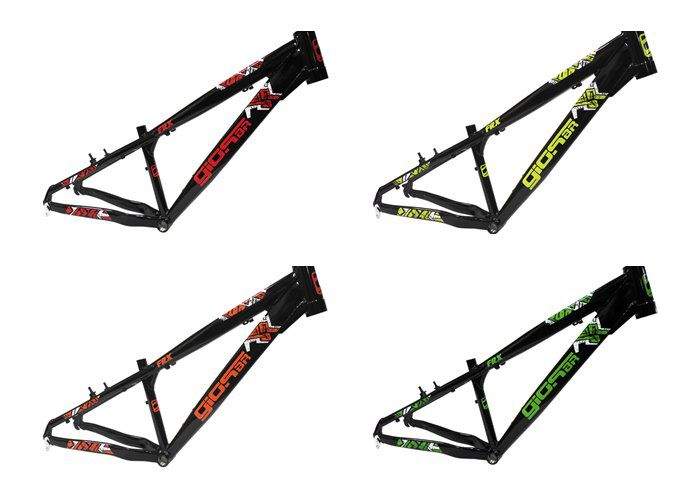 Quadro Bicicleta 26 Frx Black Edition Trilha Manobra DH Freeride - Gios