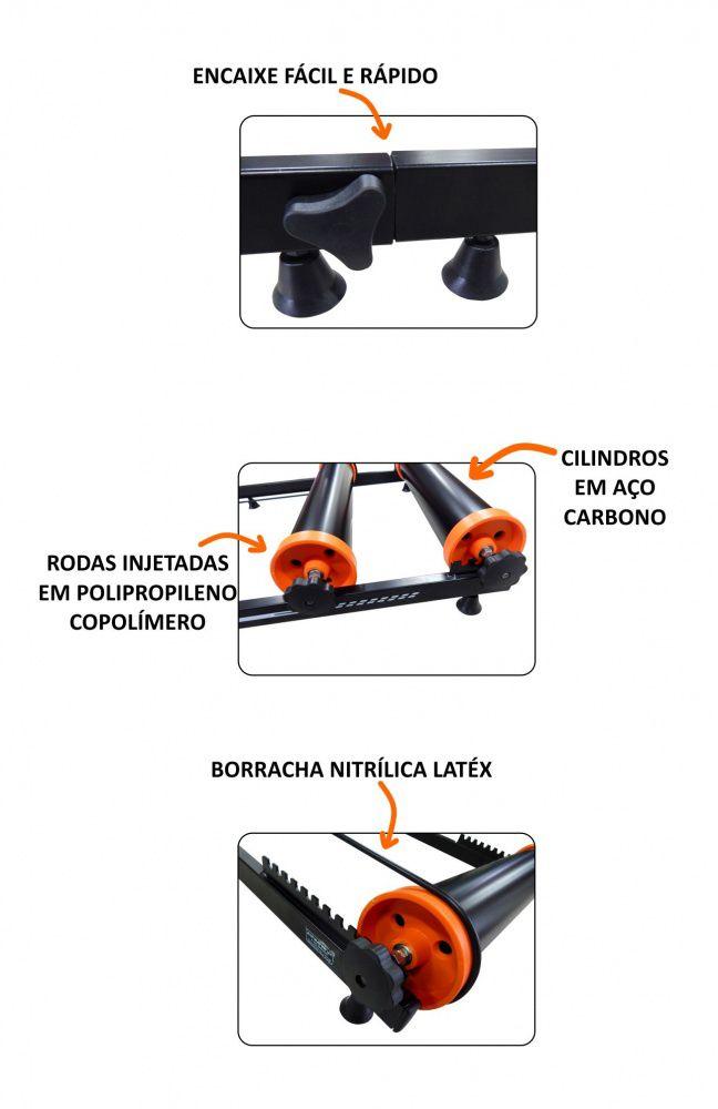 Rolo de Treino Livre (Equilibrio) Demontável  - ALTMAYER