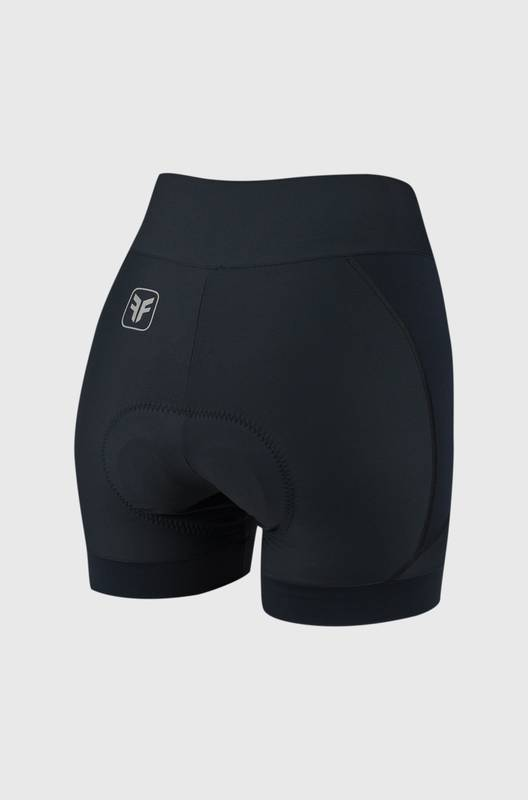 Shorts Feminino Ciclismo Sport Black Forro Invert - Free Force