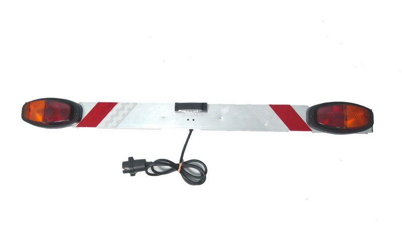 Sinalizador P/ Transbike Suporte P/ Placa - Metal Line