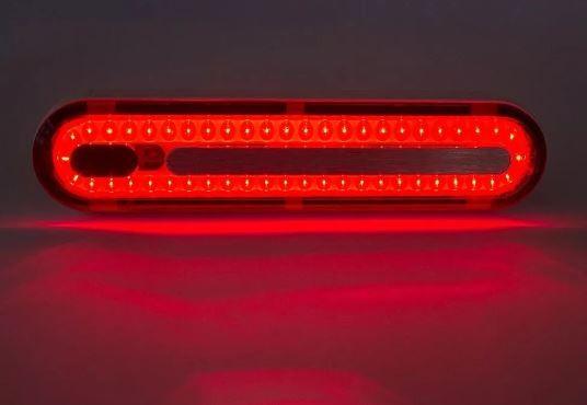 SINALIZADOR TRASEIRO 100LUMENS LED VERMELHO RECARREGAVEL USB - EXPLORE