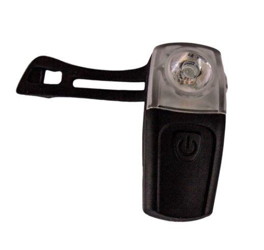 SINALIZADOR TRASEIRO SILICONE 3LED USB RECARREGAVEL - EXPLORE