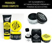 Promocional: Kit Alisamento + Kit Manutenção Completa com 2 Pomadas