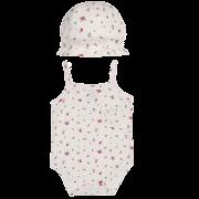 Body Tip Top Florzinha com chapéu