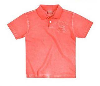 Camisa Polo Milon Infantil Masculina Badge / Tamanho 1