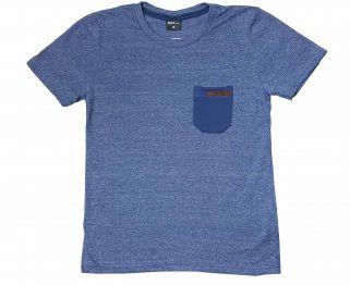 Camiseta Juvenil Moulinê TMX Com Bolso Índigo