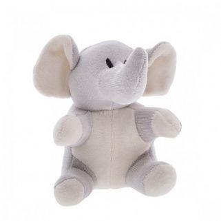 Chocalho Sensorial Mini Elefante Zip Toys  Bichos da Floresta