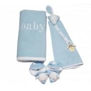 Kit Presente Zip Toys baby Azul