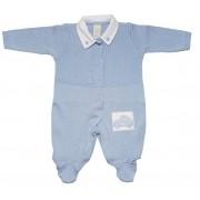 Macacão Milly Baby Blue Sky Carrinho  / Tamanho P