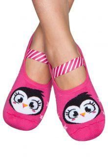 Meia Sapatilha Boneca Puket Pinguim