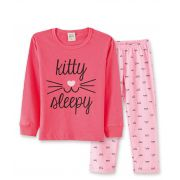 Pijama  Pingo Lelê Gatinha Goiaba