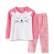 Pijama Soft Pingo Lelê Gatinha Pink