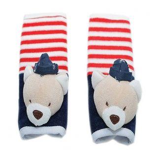 Protetor de Cinto de Segurança Zip Toys Infantil Urso Marinheiro