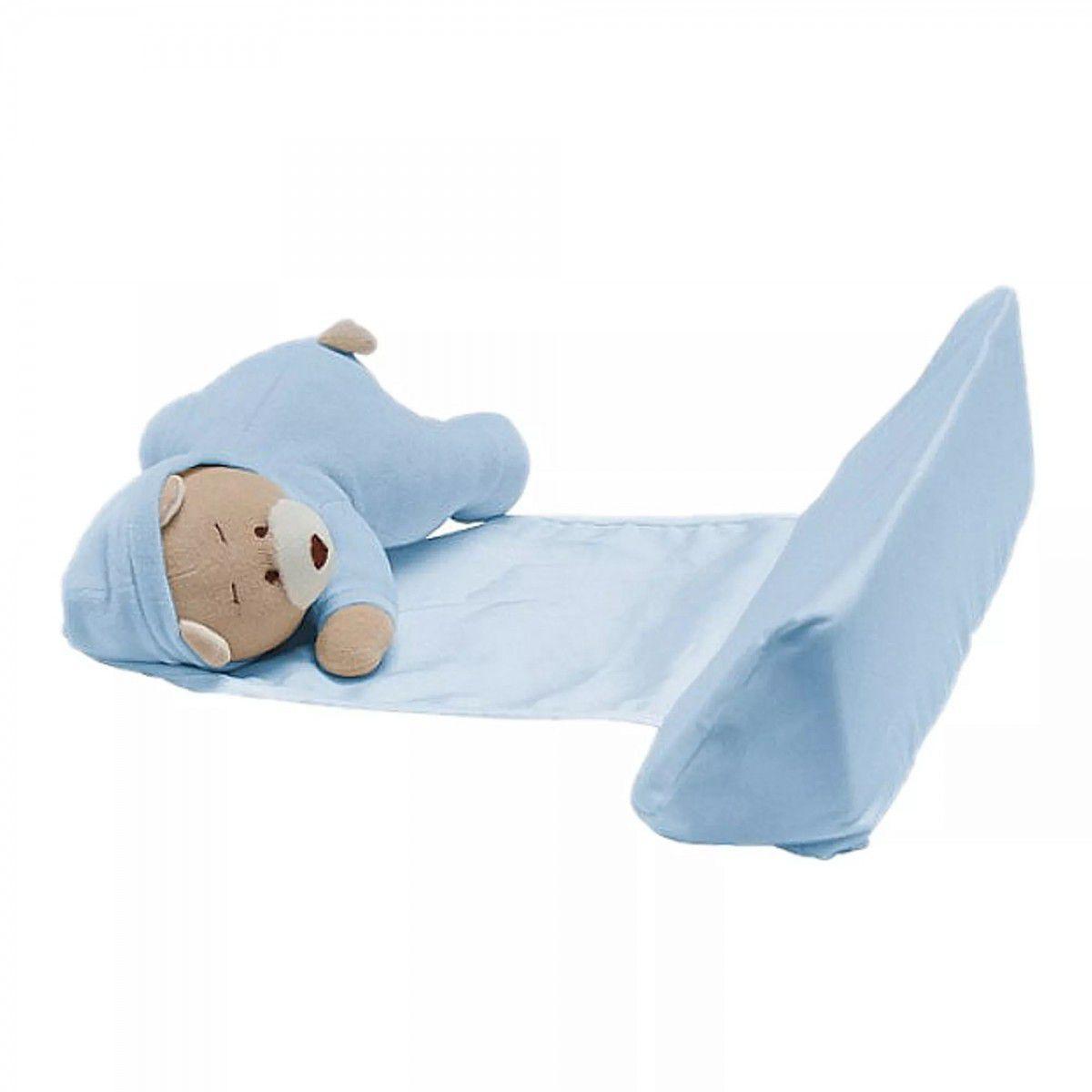 Apoiador para Bebê Zip Toys  Ursinho Azul