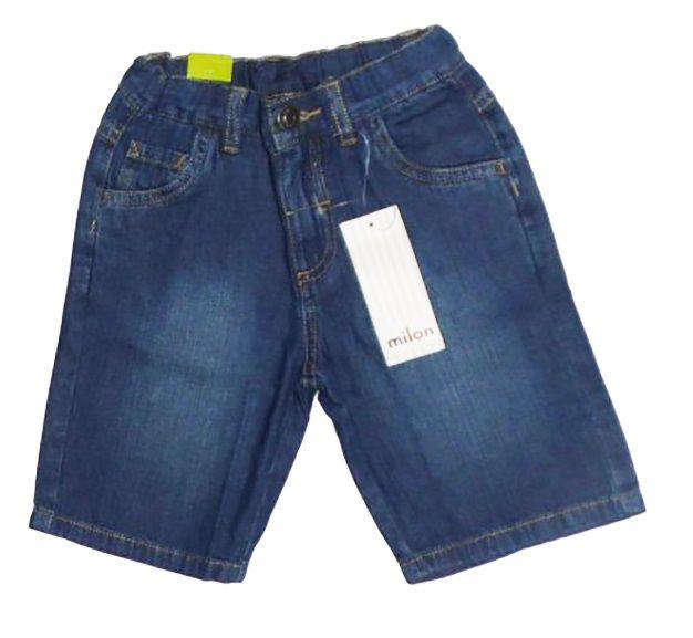 Bermuda Jeans Milon Infantil Menino   / Tamanho 4