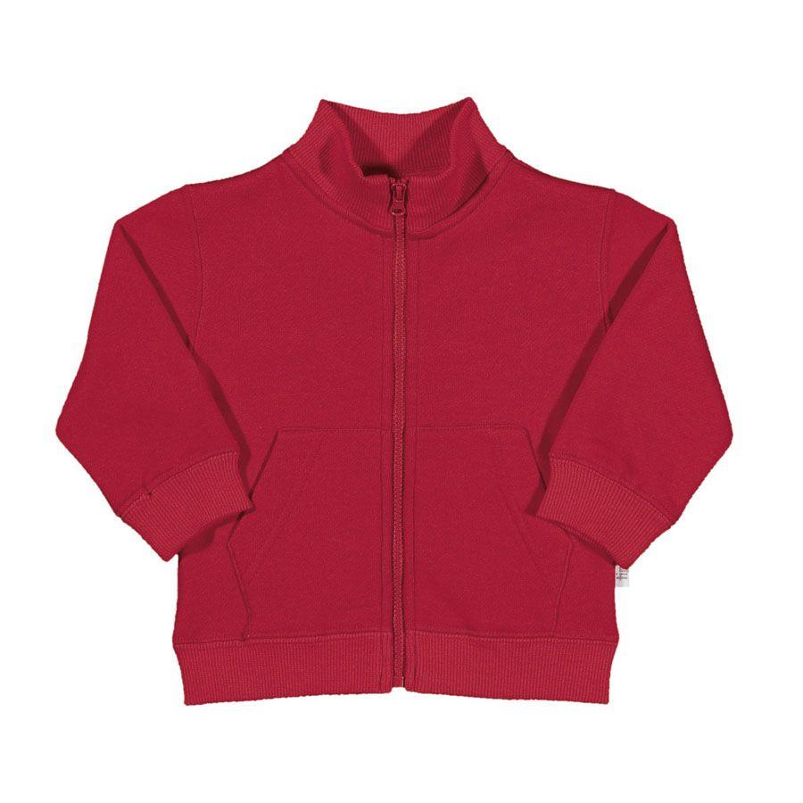 Blusão Infantil Tip Top unissex toddler Vermelho