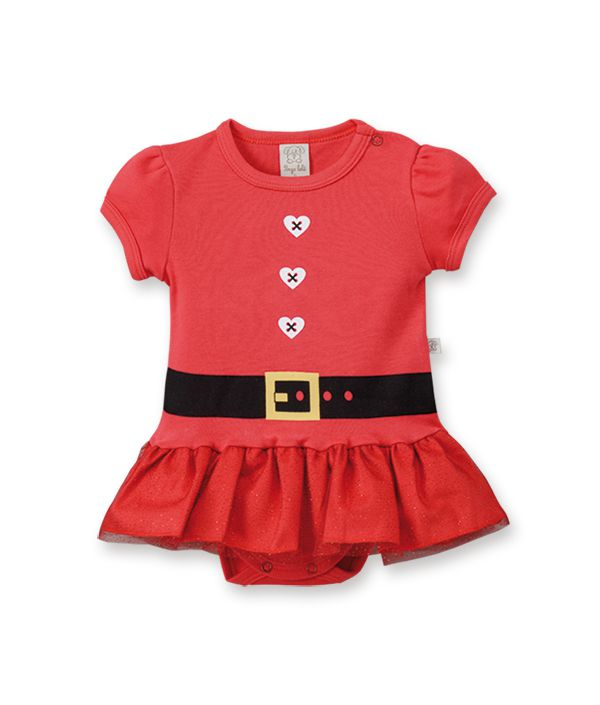 Body  vestido Pingo Lelê Natal  / Tamanho GG