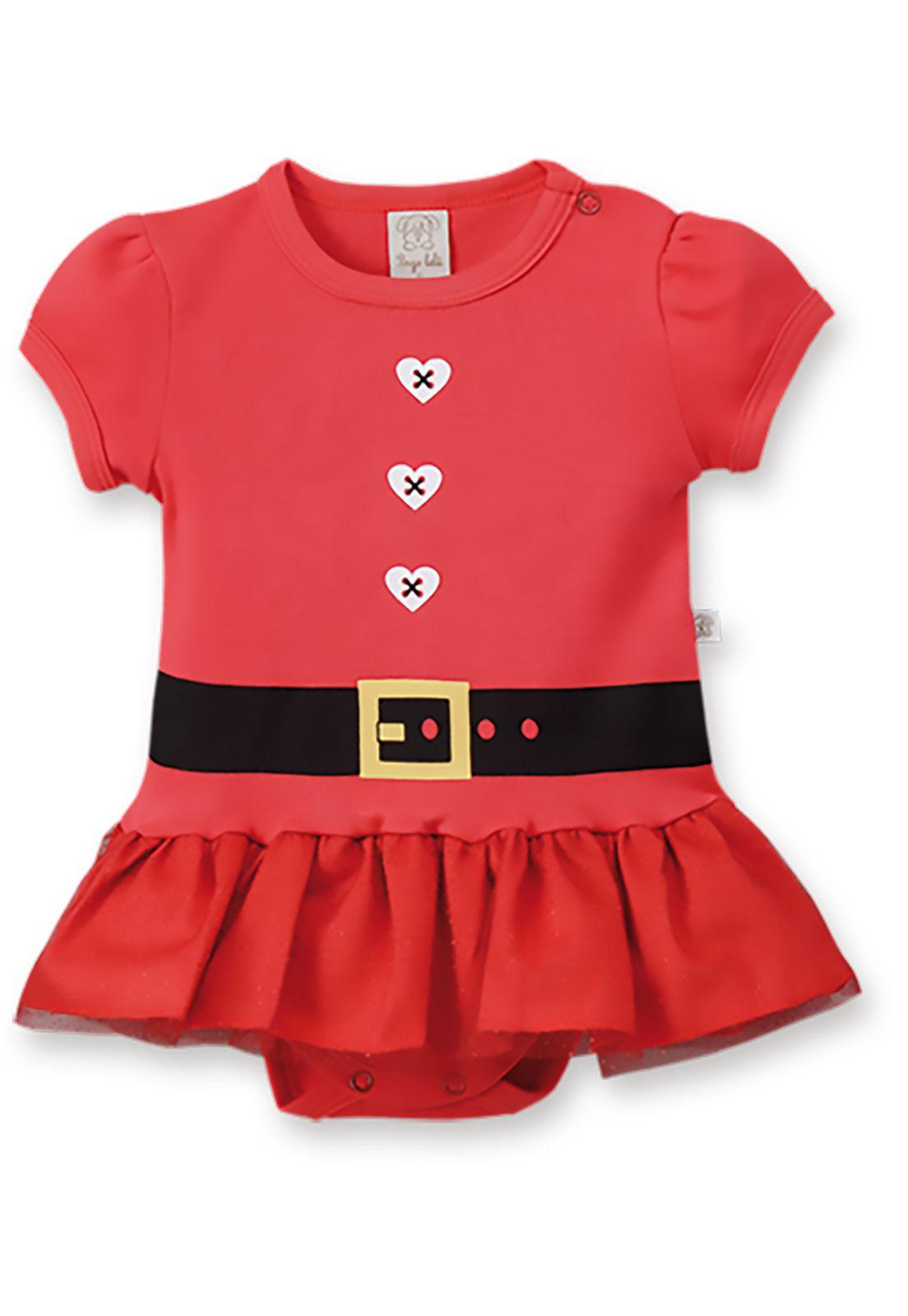 Body  vestido Pingo Lelê Natal