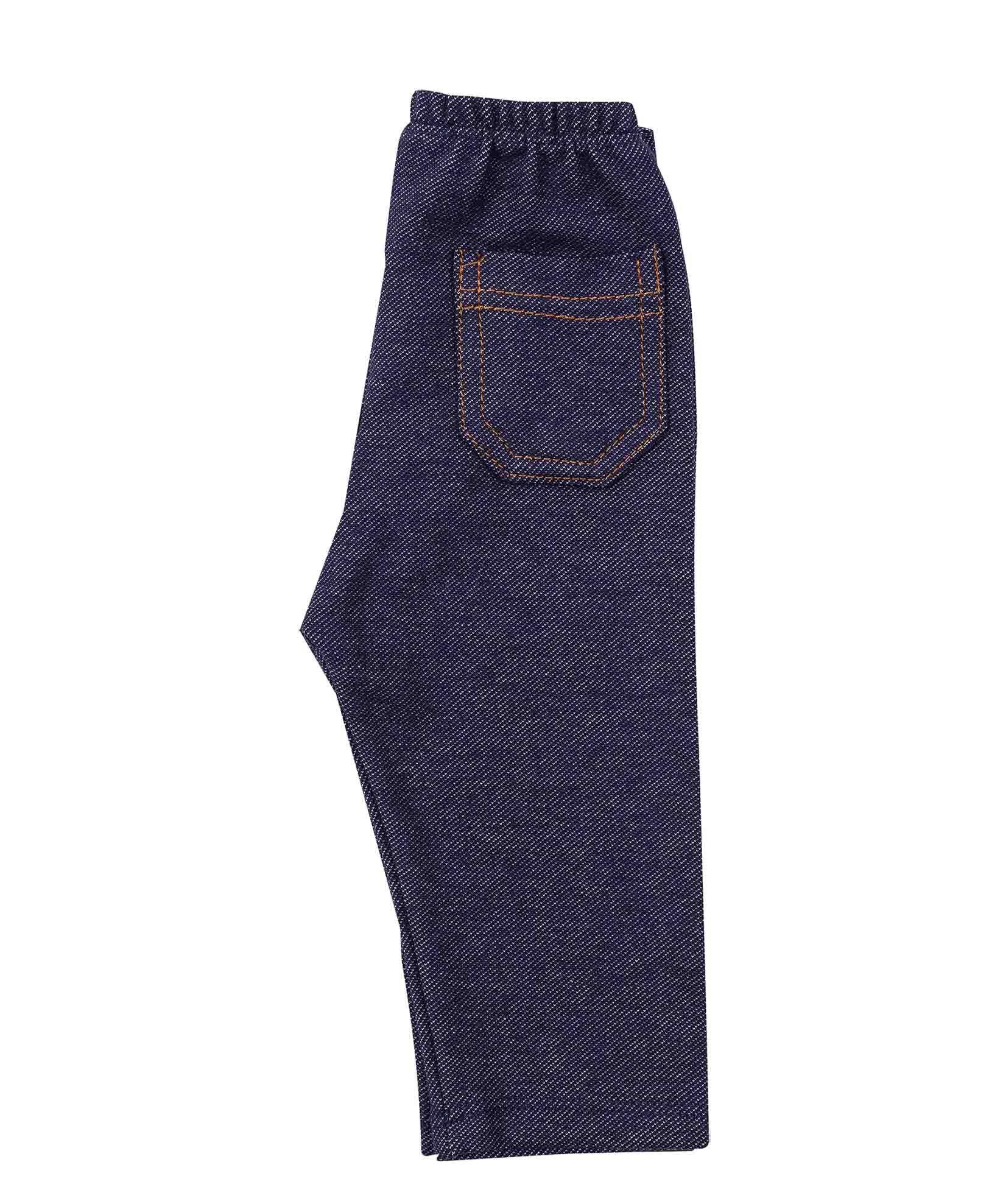 Calça Infantil Jeans Coquelicot  com Bolso