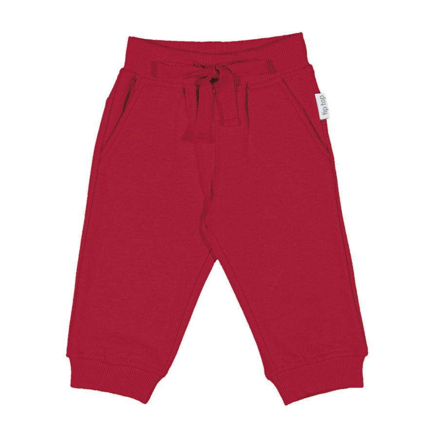 Calça Bebê Tip Top unissex Vermelha