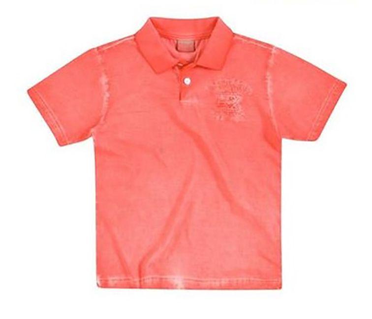 Camisa Polo Infantil Milon Infantil Masculina Badge