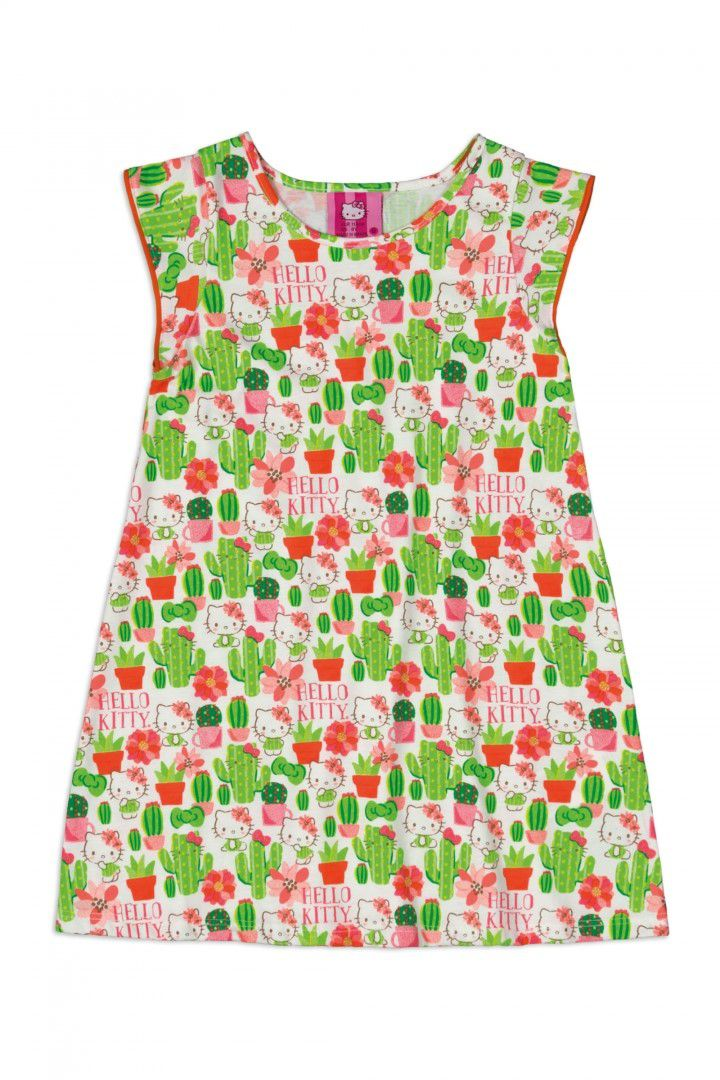 Camisola Infantil Hello Kitty  Floral