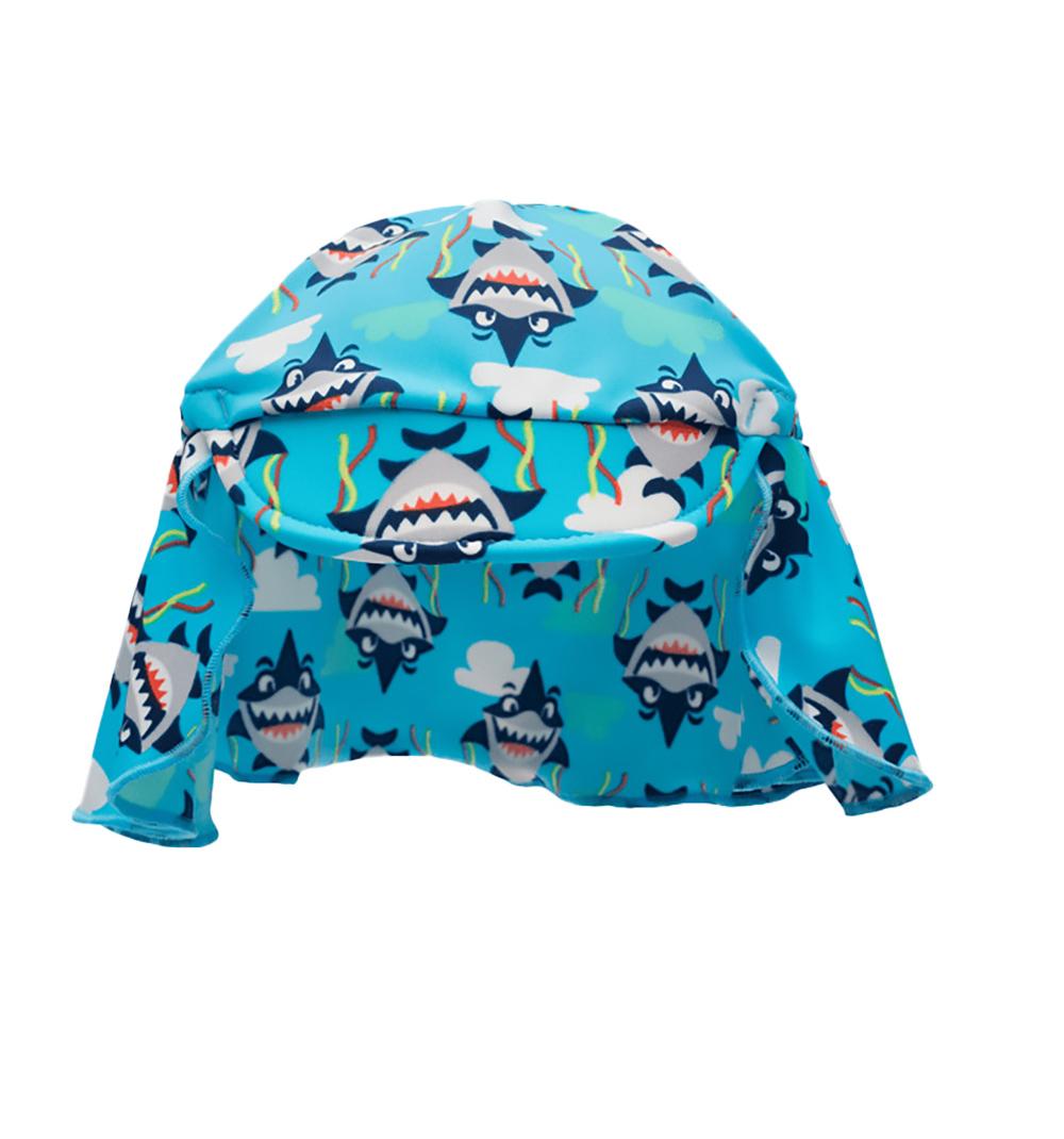 Chapéu bebê Praia Puket Tubarão Azul
