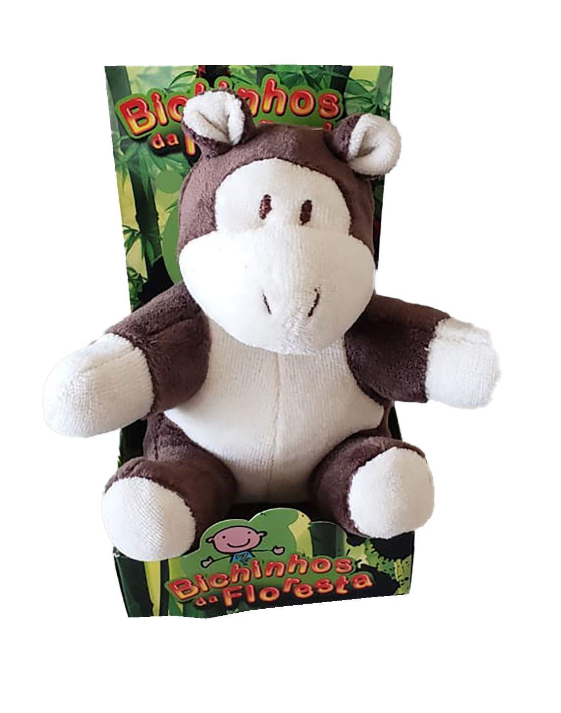 Chocalho Sensorial Mini Macaco Zip Toys  Bichos da Floresta
