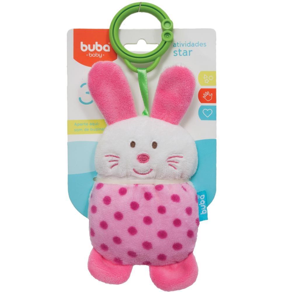 Coelhinho Atividades Star Buba Toys  Rosa