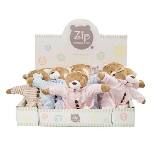 Coleção chocalho Zip Toys Nino de pijama