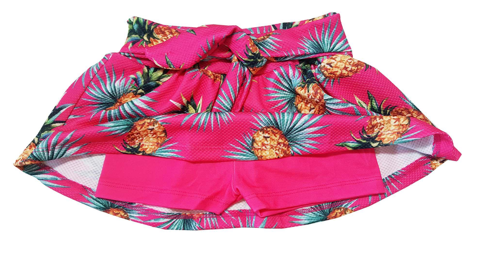 Conjunto Blusa e Saia-Shorts TMX  Inspire Pink / Tamanho 1