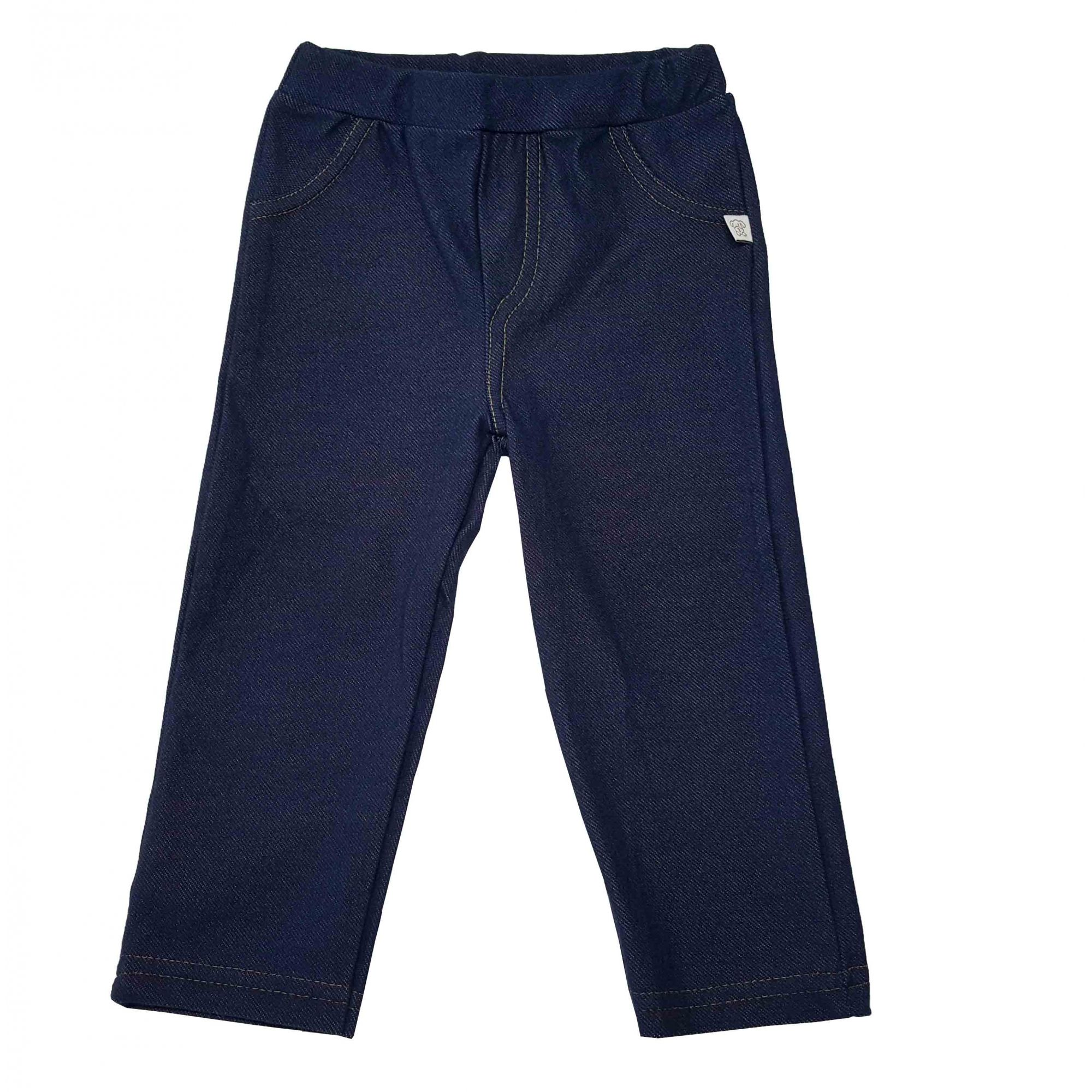Conjunto Body manga longa, Calça Jeans e Casaco com Capuz Soft Pingo Lelê Azul Claro / Tamanho 3