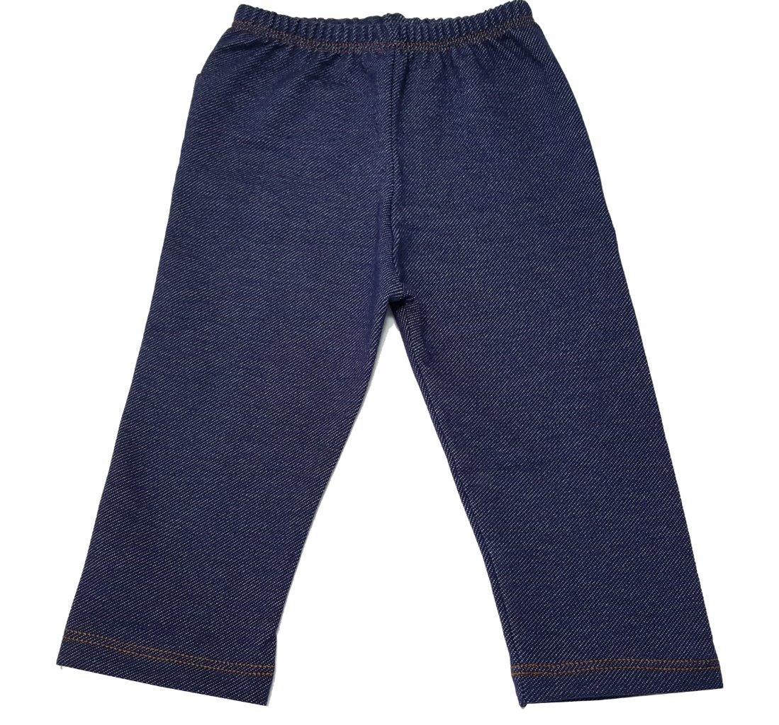 Conjunto Coquelicot Moletom e calça jeans Ursinho / Tamanho 9 A 12 meses