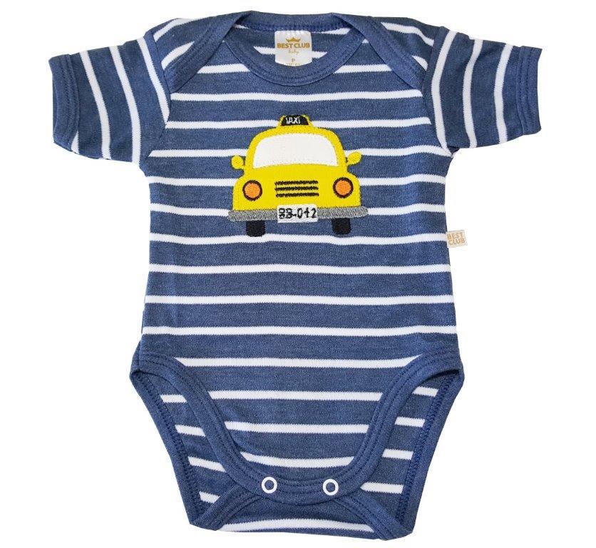 Kit Body Best Club e Short Taxi Azul Jeans