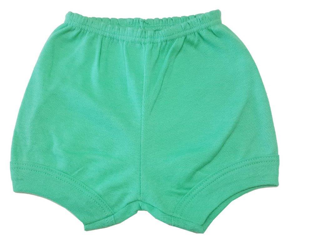 Kit Body Best Club, Short e babador Zebrinha Verde