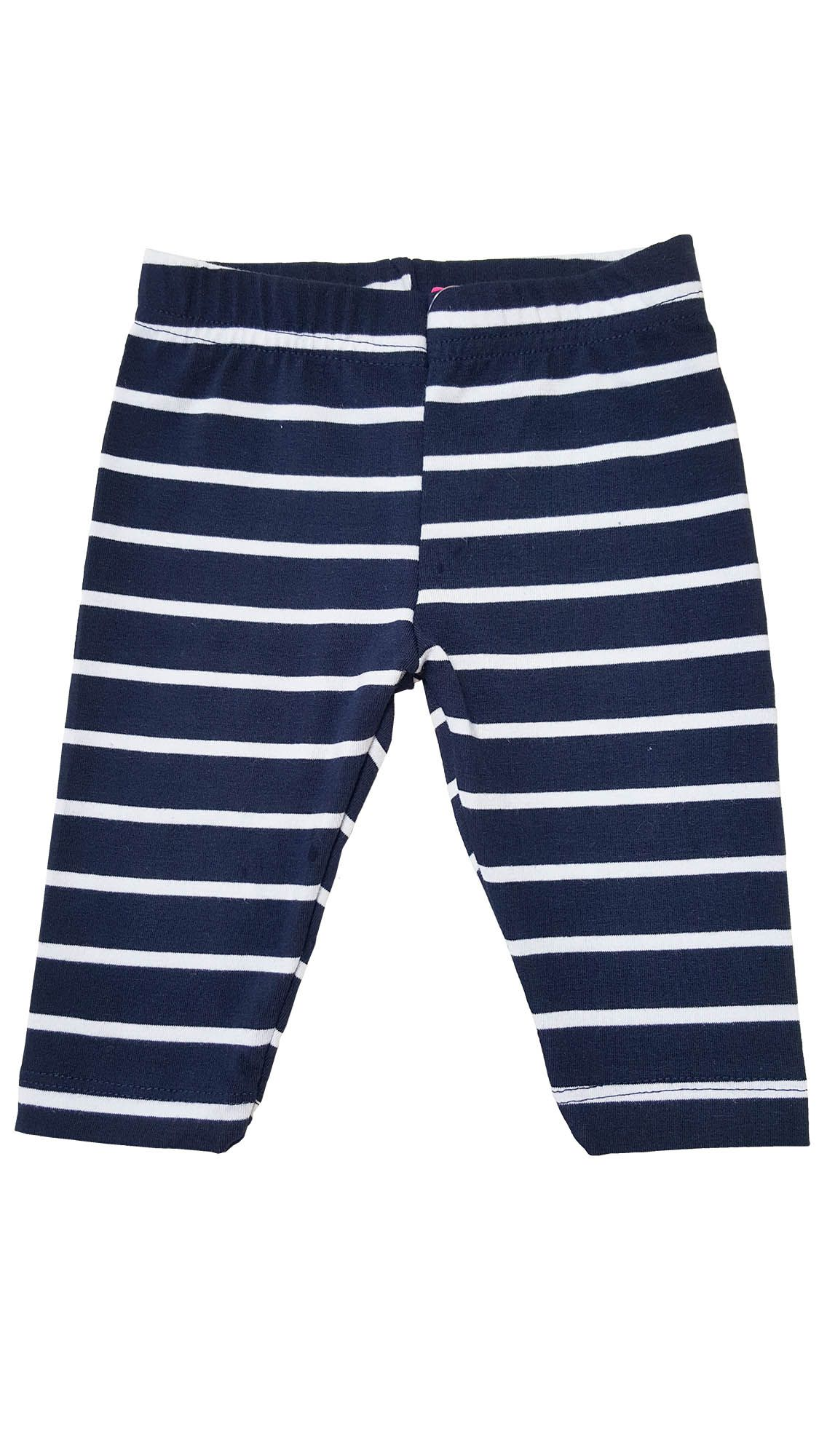 Legging  Capri Infantil TMX  Listras Marinho / Tamanho 8