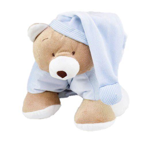 Meu 1° Puppet  Zip Toys Urso Nino Azul