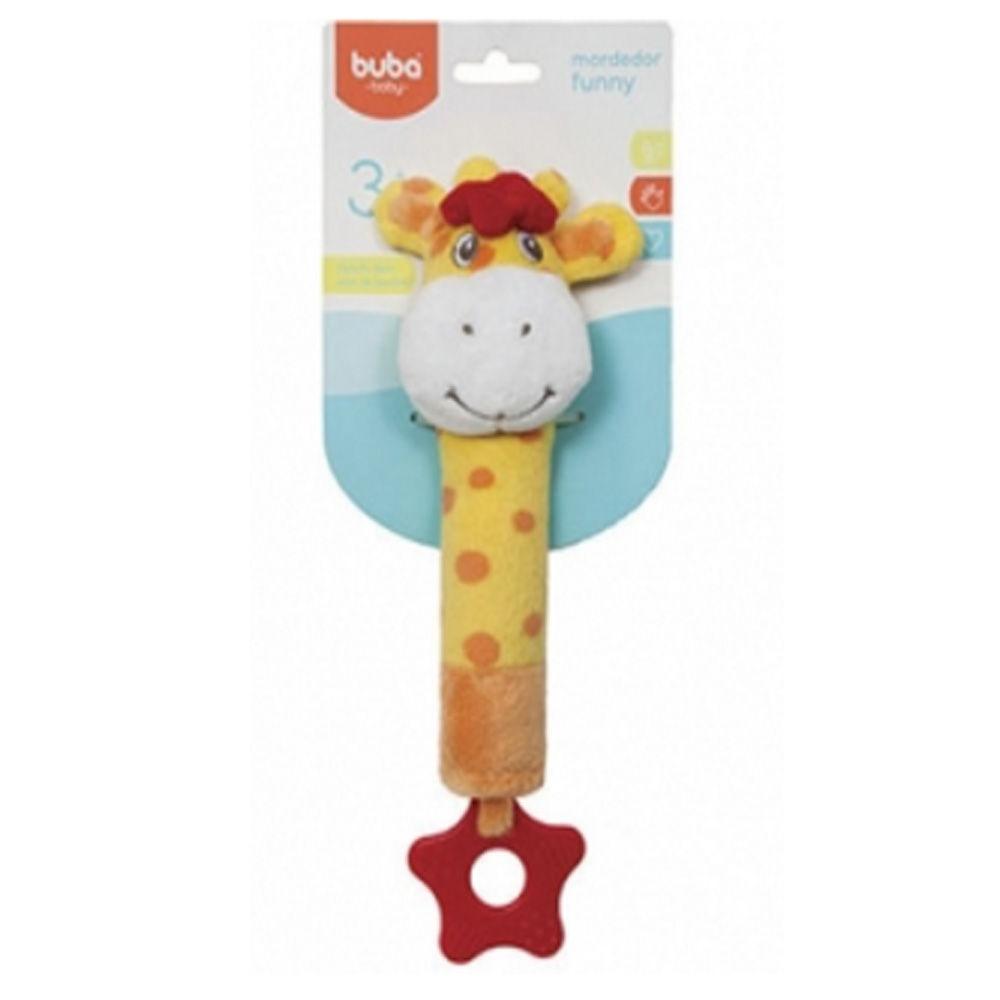Mordedor Funny Buba Toys Girafa