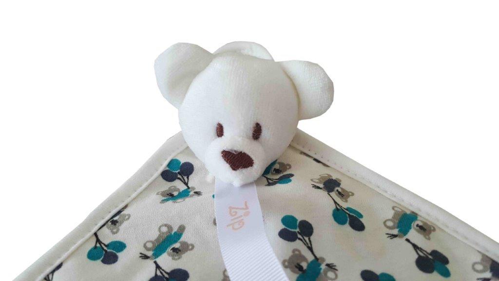 Naninha Atoalhada Zip Toys Urso