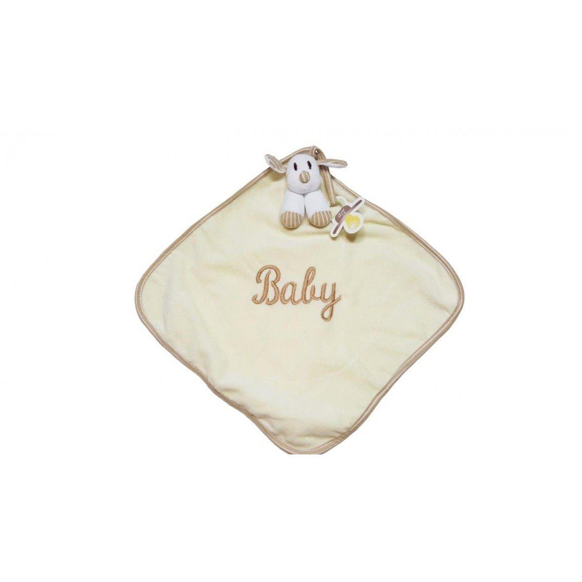 Naninha Cetim Zip Toys Listrado Baby