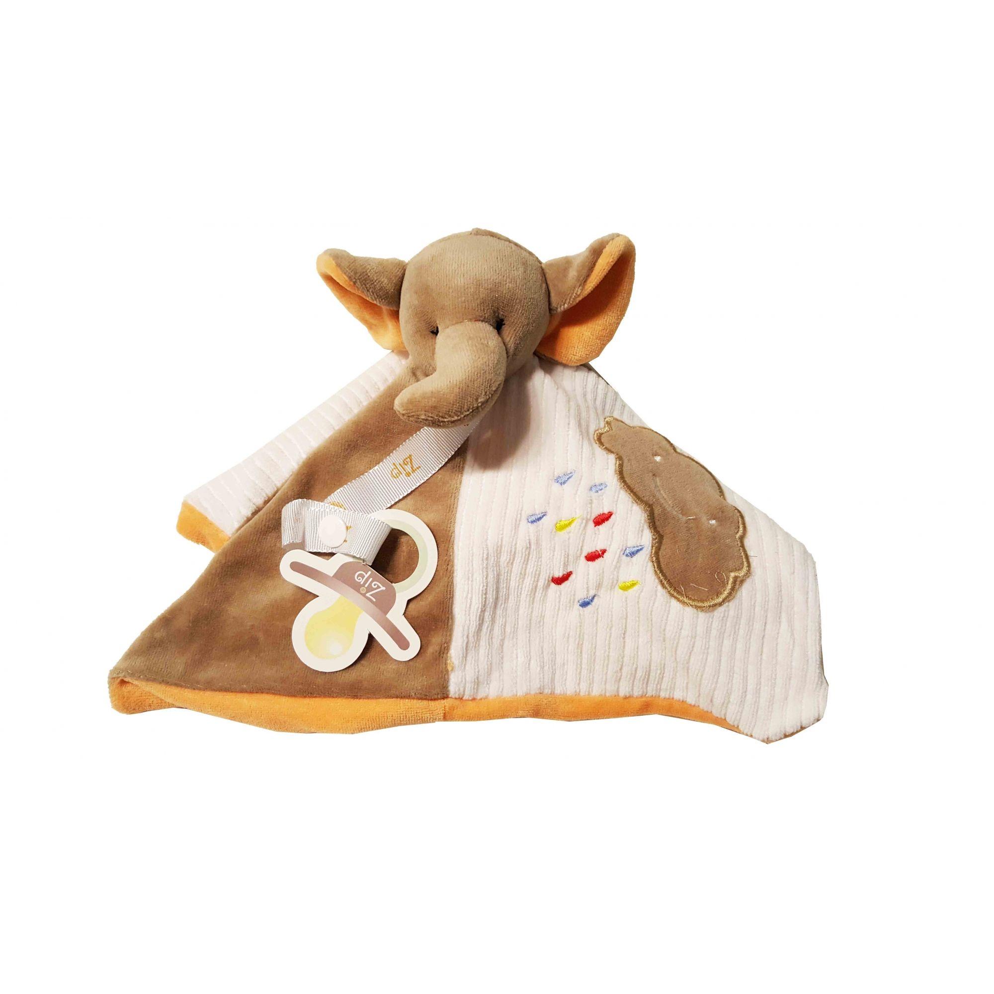 Naninha Plush Zip Toys Elefante