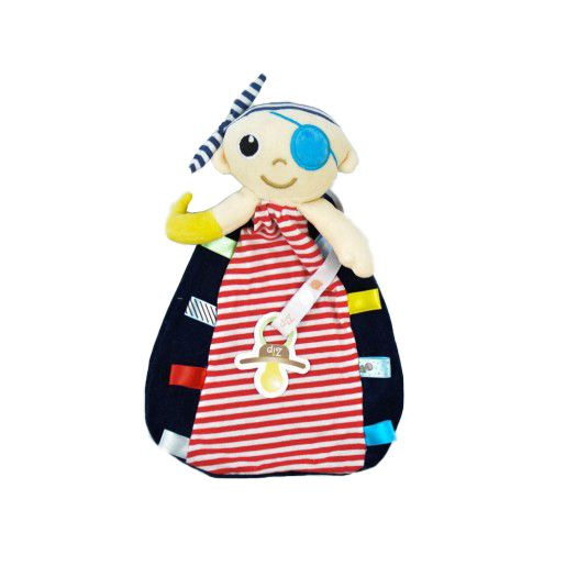 Naninha Tags Zip Toys  Pirata