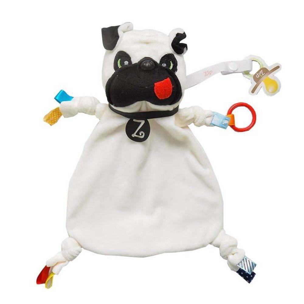 Naninha Tags Zip Toys  Pug Zé