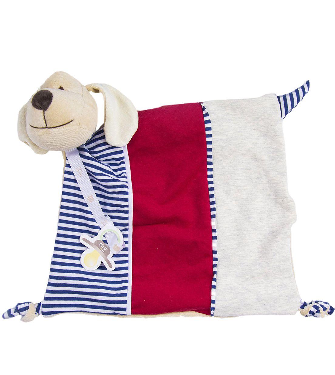 Naninha Zip Toys  Cachorro 3 Cores