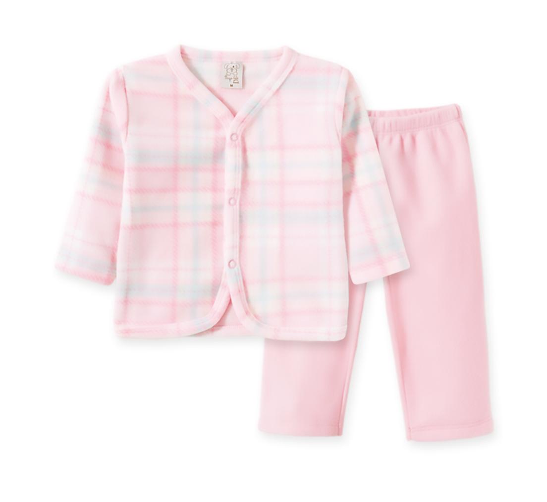 Pijama Infantil Soft Pingo Lelê Xadrez Rosa
