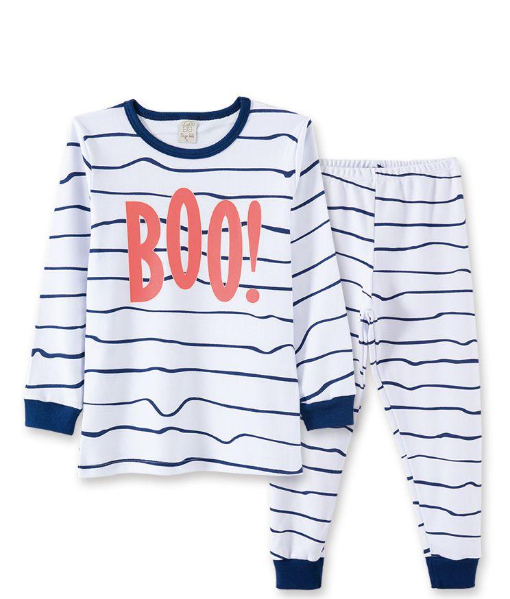 Pijama  Pingo Lelê BOO Branco