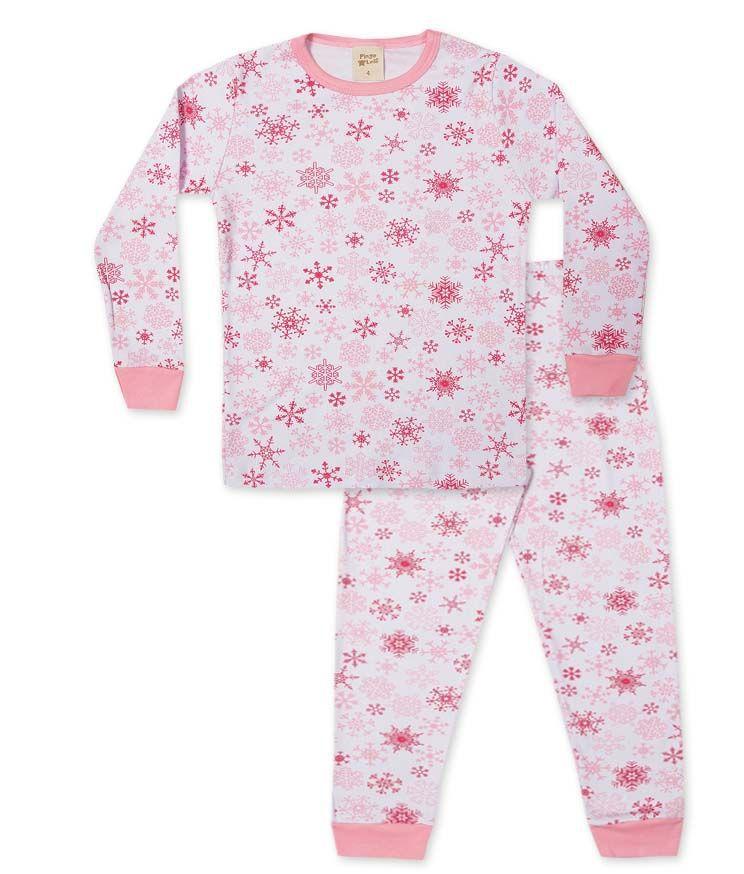 Pijama Pingo Lelê  Flocos de Neve